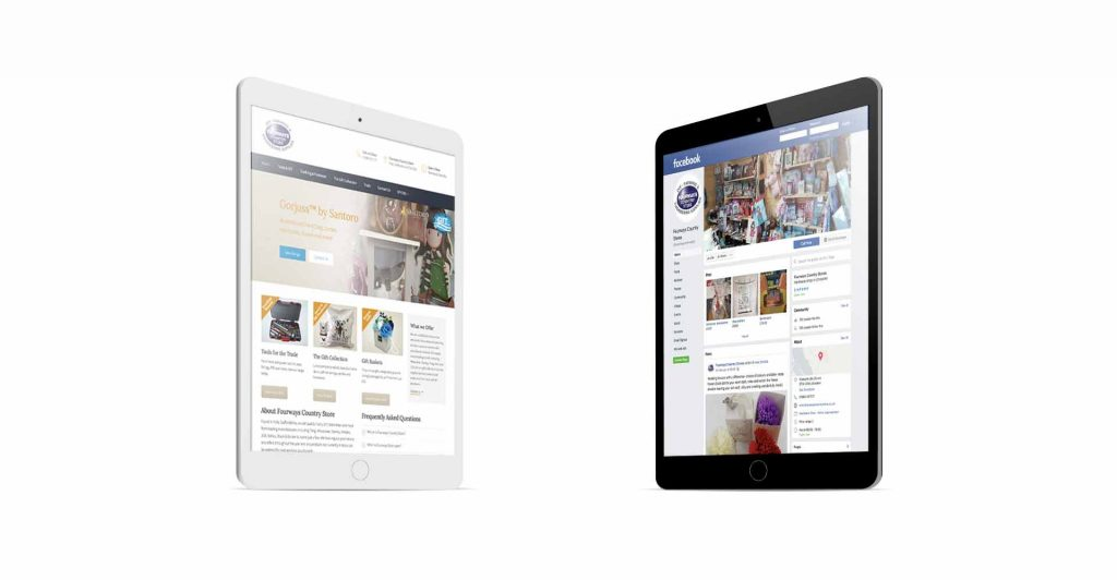 Digital Design Websites and Social Media