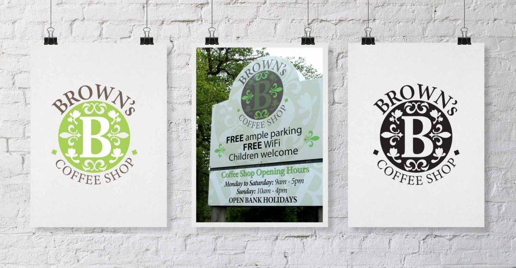 Logo Design and Signage